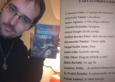 """Bakti Viktor barátom megkapta az antológiát - """"Fegyvert s vitézt éneklek"""""""